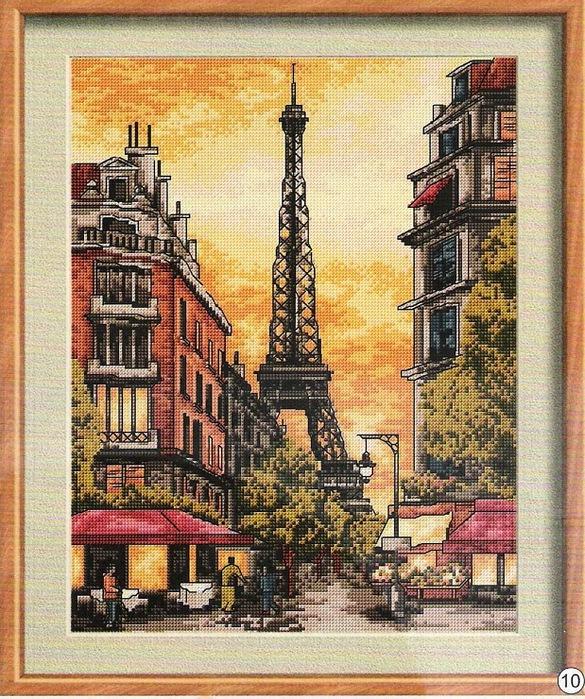 Солнечный Париж (585x700, 236Kb)