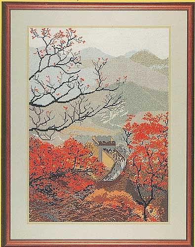 Фрагмент Великой Китайской стены (395x500, 76Kb)