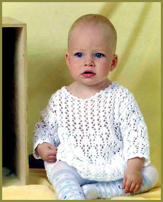 Вязание спицами для детей до