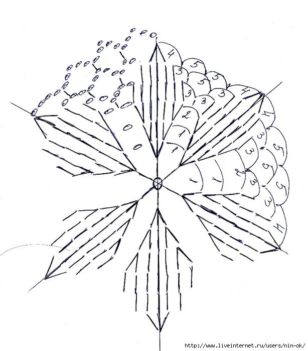 туника схема мотива (614x700, 211Kb)