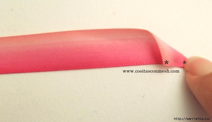 розовый топиарий из атласных розочек (7) (700x406, 103Kb)