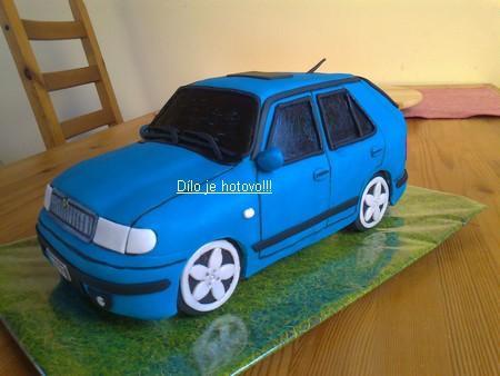 3D торты. Автомобили из мастики (24) (450x338, 22Kb)