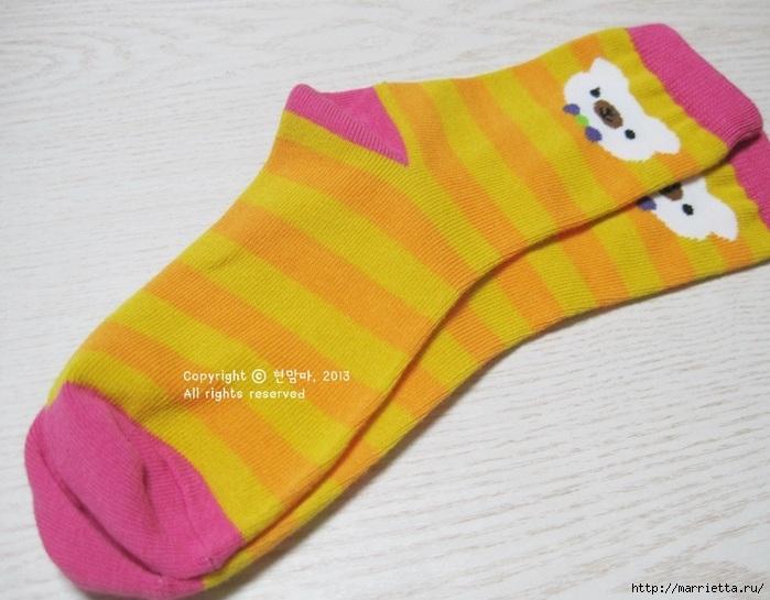 игрушки из носков. собачка (4) (700x545, 196Kb)