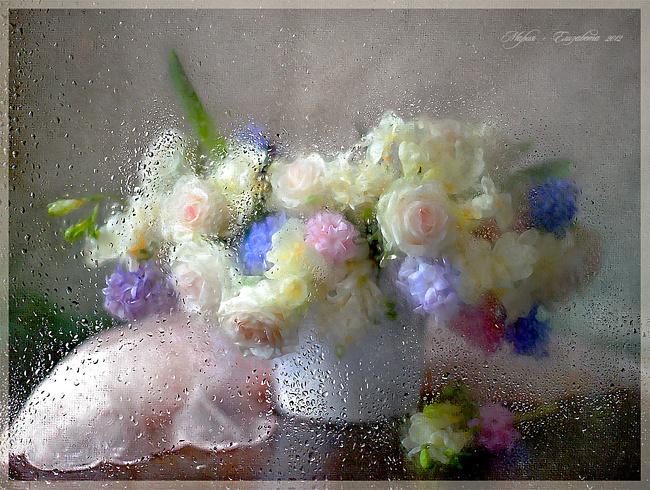 натюрморт со стеклом:
