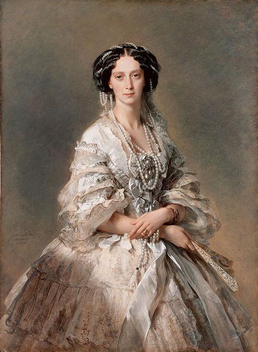 564px-Empress_Maria_Feodorovna,_1857,_Hermitage_Museum (514x700, 86Kb)
