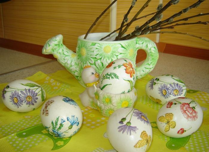 Яйца пасхальные своими руками фото