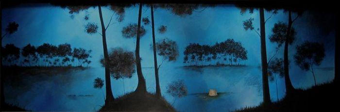 Духи леса от художника Scott Belcastro 7 (700x231, 23Kb)