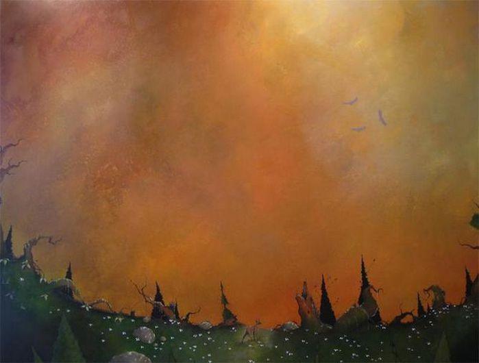 Духи леса от художника Scott Belcastro 11 (700x530, 32Kb)