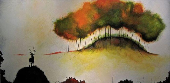 Духи леса от художника Scott Belcastro 23 (700x344, 33Kb)