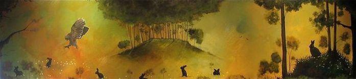 Духи леса от художника Scott Belcastro 27 (700x156, 19Kb)