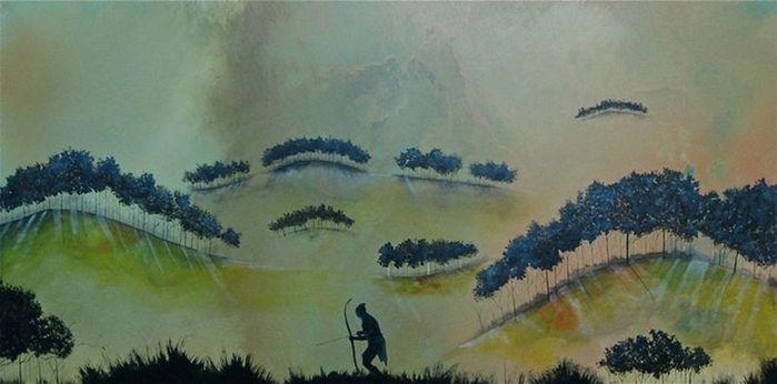 Духи леса от художника Scott Belcastro 33 (700x346, 35Kb)
