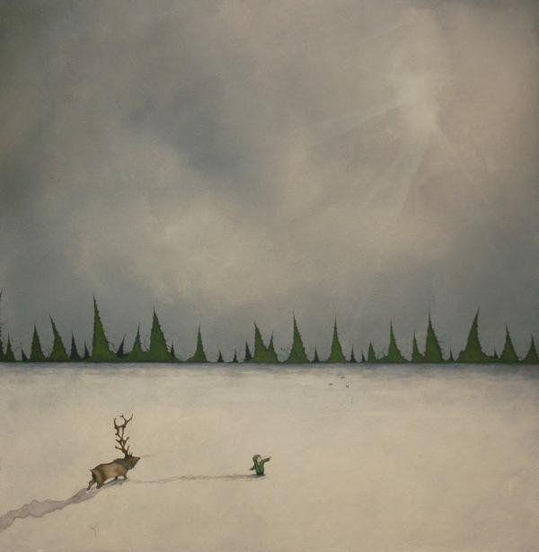 Духи леса от художника Scott Belcastro 38 (600x614, 26Kb)