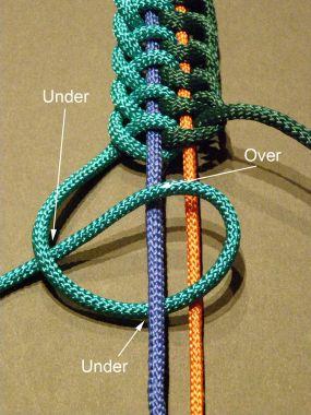 Ремень из ниток своими руками