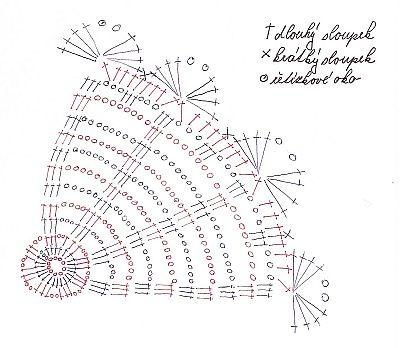 схемы для обвязки крючком пасхальных яиц  (12) (400x348, 35Kb)