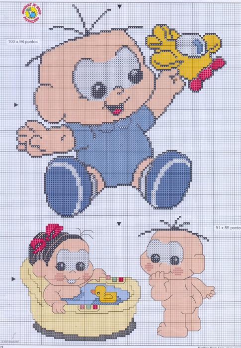 Малыши (вышивка)