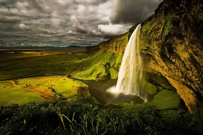 водопады исландии фото 4 (700x467, 127Kb)