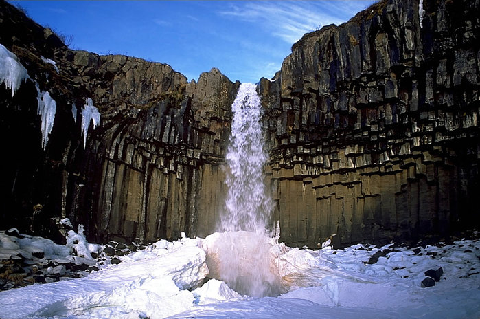 водопады исландии фото 16 (700x464, 110Kb)