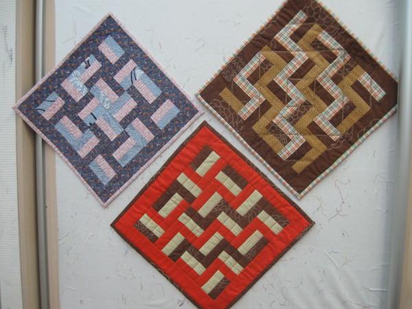 拼布图案与色彩的模式 - maomao - 我随心动