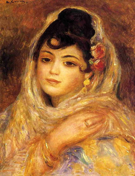 Algerian Woman - 1881 (538x699, 121Kb)