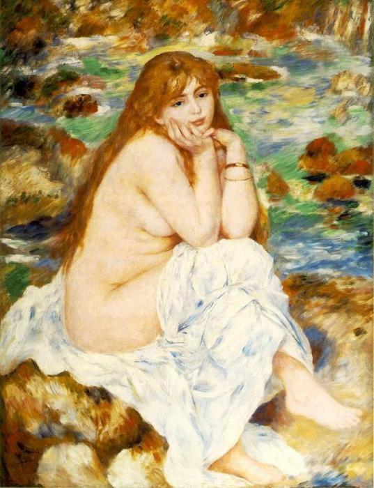 Seated Bather - 1883 -1884 (537x700, 65Kb)