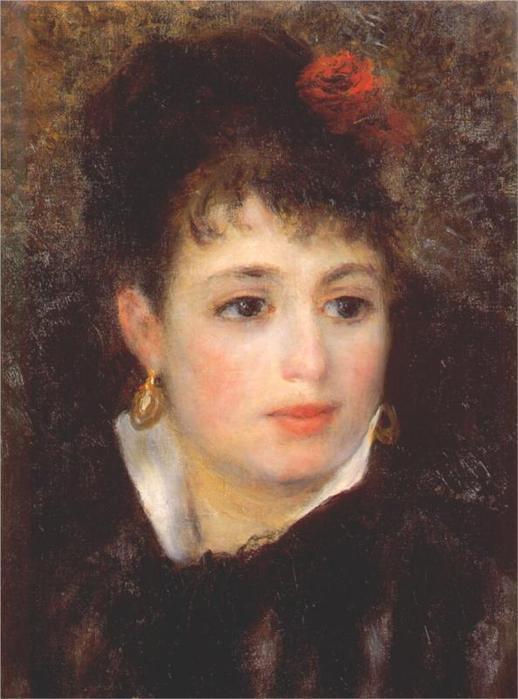 Женщина с розой, 1875-1876 (518x700, 46Kb)