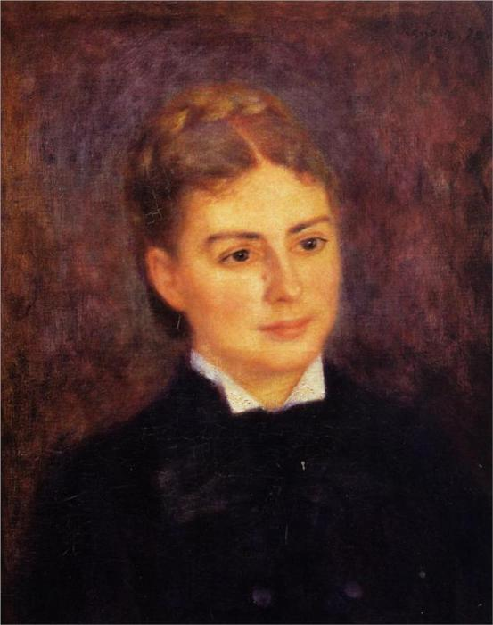 Мадам Поль Berard, 1879 (553x700, 42Kb)