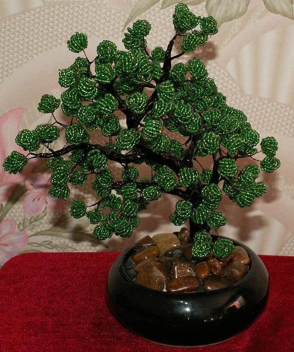 Дерево из бисера Береза Мастер