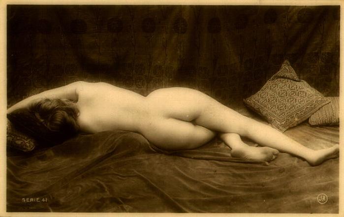 Ретро рисунки голых женщин 1 фотография