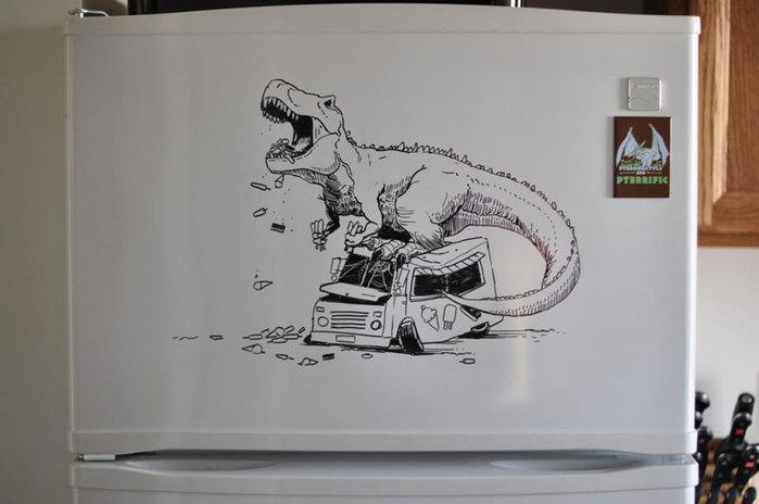 прикольные рисунки Чарли Лэйтон 6 (700x464, 46Kb)