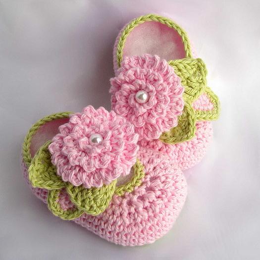 Baby-Bootie-Crochet-Pattern (525x525, 96Kb)