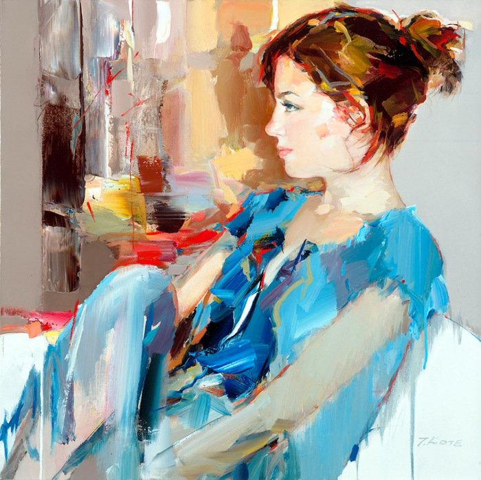Josef Kote _ paintings _ Armenia_ USA (1) (700x699, 586Kb)