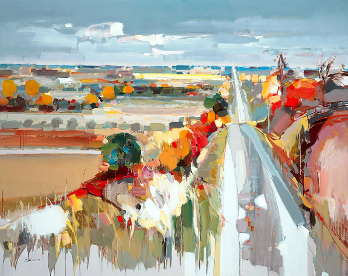 Josef Kote _ paintings _ Armenia_ USA (29) (700x556, 464Kb)
