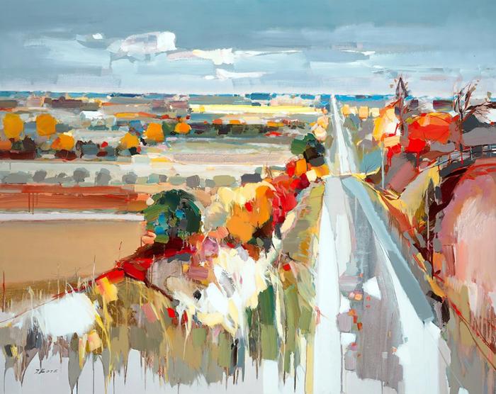 Josef Kote _ paintings _ Armenia_ USA (29) (700x556, 464Kb)