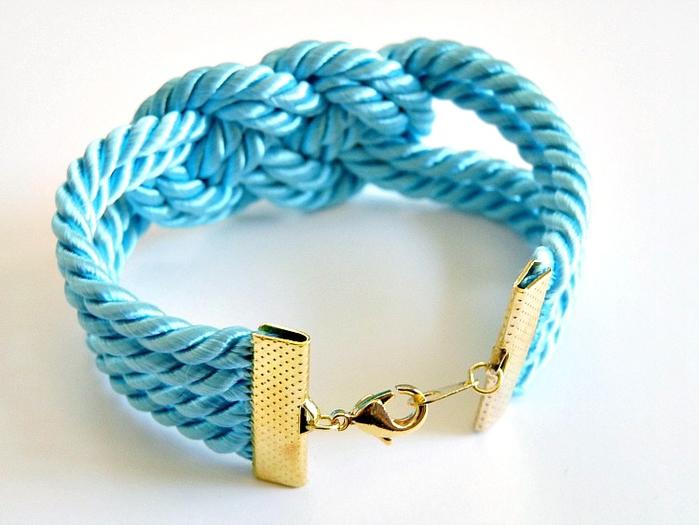Плетеные браслеты своими руками из веревки