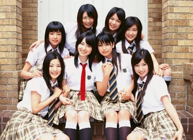 Японки в школьной форме целый класс голый фото 213-361