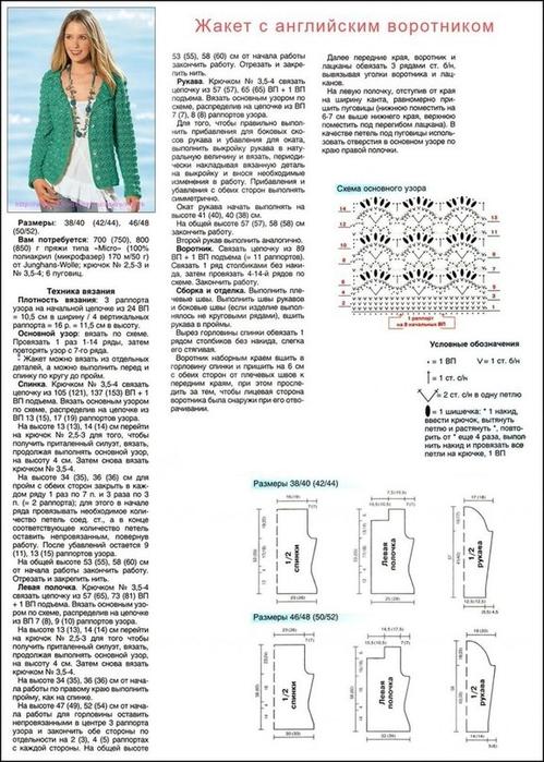 Вязаные жакеты спицами со схемами и описанием новые модели