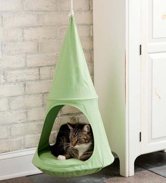 кошки интерьер креатив гамак