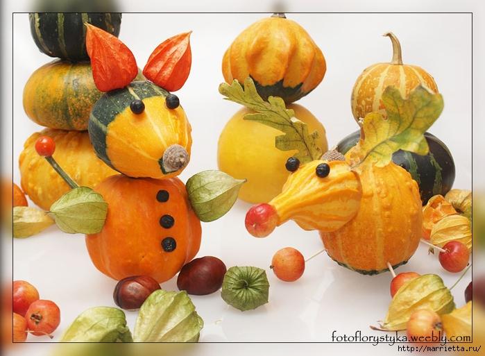 Осенняя флористика. Красивые идеи для украшения интерьера (19) (700x513, 268Kb)