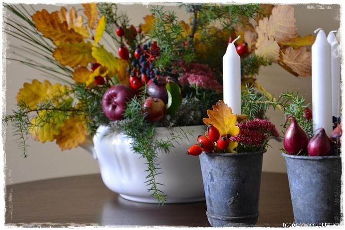 Осенняя флористика. Красивые идеи для украшения интерьера (30) (700x466, 269Kb)