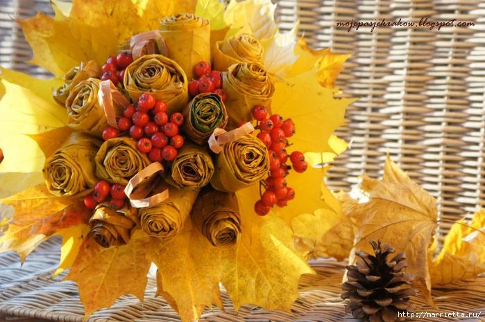 Осенняя флористика. Красивые идеи для украшения интерьера (34) (700x465, 307Kb)