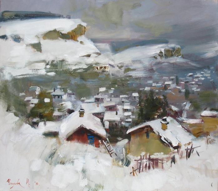 чепелева Зима в Бахчисарае  (700x614, 305Kb)