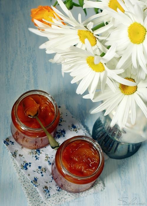 Рецепт джема из нектарин с ванилью (2) (500x700, 291Kb)