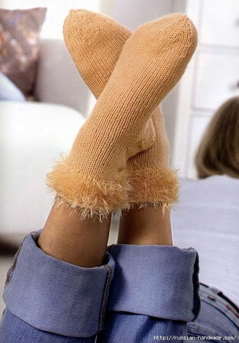 Носки спицами вяжем для всей семьи (24) (487x700, 270Kb)