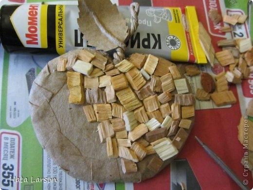 Сувениры - магнитики ЯБЛОЧКИ из картона и прищепок (6) (520x390, 123Kb)