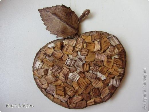Сувениры - магнитики ЯБЛОЧКИ из картона и прищепок (8) (520x390, 98Kb)