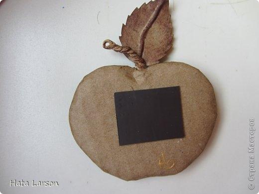 Сувениры - магнитики ЯБЛОЧКИ из картона и прищепок (13) (520x390, 69Kb)