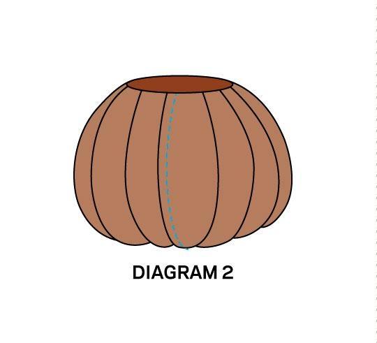 Салфетка в технике пэчворк и текстильные тыковки к Хеллоуину (8) (540x491, 43Kb)