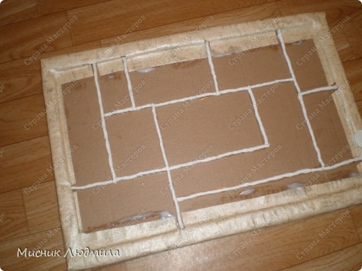 Панно из зерен, крупы и семечек для украшения кухонного интерьера (4) (520x390, 101Kb)