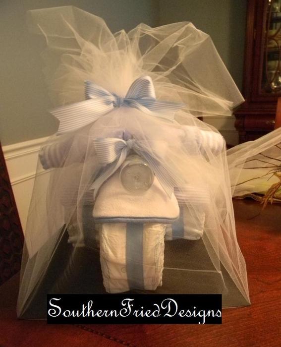 Motocicleta de los pañales - el mejor regalo para un recién nacido.  Master Class (3) (567x700, 236Kb)