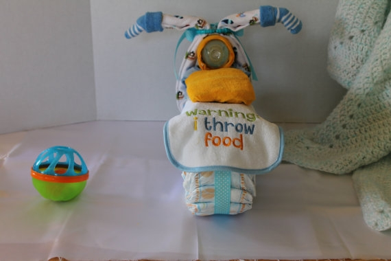 Motocicleta de los pañales - el mejor regalo para un recién nacido.  Master Class (27) (570x380, 94Kb)